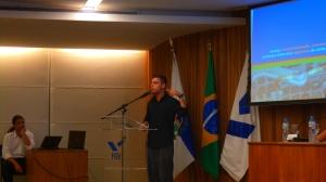 Rafael e Henrique fazem a apresentação da T&T Institute no Saúde em Jogo 2
